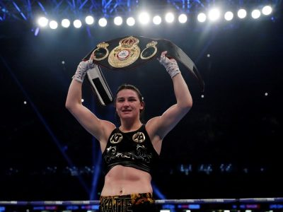NOW OFFICIAL: Katie Taylor Wasting No Time in Defending her WBA Title on December 13th Against Jessica McCaskill