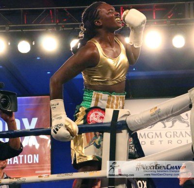 WBC and IBF Super Middleweight Champ Claressa Shields Set to Battle for the Zero with Undefeated Tori Nelson on January 12