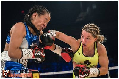 Kim Clavel Debuts with Near Shutout Scores in Unanimous Decision Victory