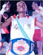 WBF Honors Bukiwe Nonina's Win Over Alesia Graf Their Female Fight of the Year