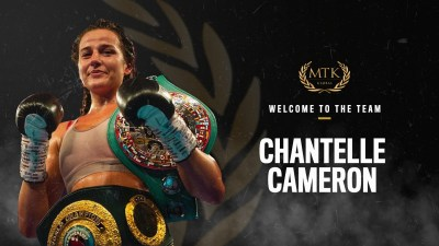 IBO Lightweight Champion Chantelle Cameron Joins MTK Global to Steer