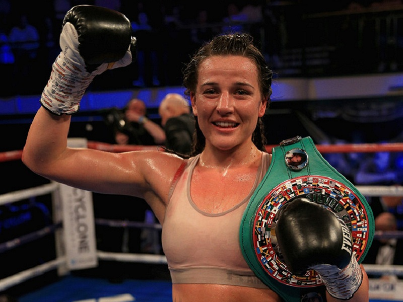 IBO Lightweight Champ Chantelle Cameron Returns to Action ...
