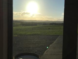 Postcard sunset from Cellar Door