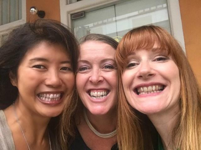 Grange teeth smiles all round