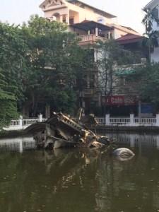 52 Bomber downed in Huu Tiep Lake