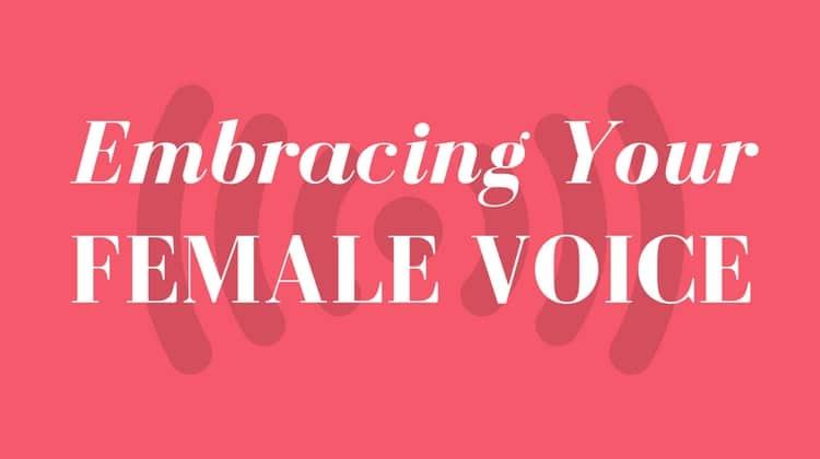 female voice