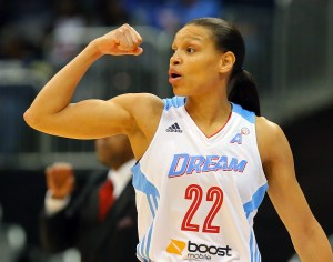 ATLANTA Dream guard Armintie Herrington CURTIS COMPTON / CCOMPTON@AJC.COM