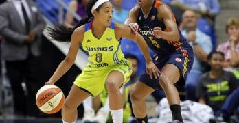Dallas Wings' Point Guard Tiffany Bias Chats with Steph Lecor