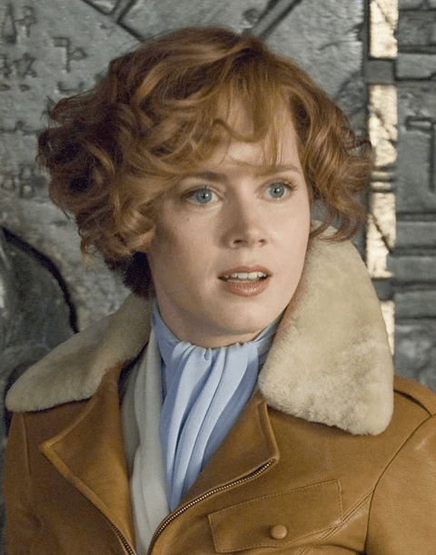 Amy Adams Movies Pictures In Her Short Curly HairstylePNG