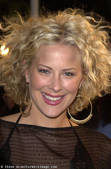 BrittanyDa Grani With Short Hair Perm Blonde