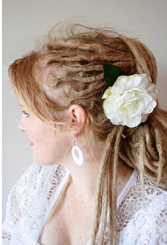 Blonde Dreadlocks Hairstyle PicturePNG