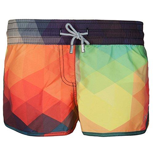 ENLACHIC 3D Printed Funny Swim Trunks Quick Dry Sports Running Swim Board Shorts