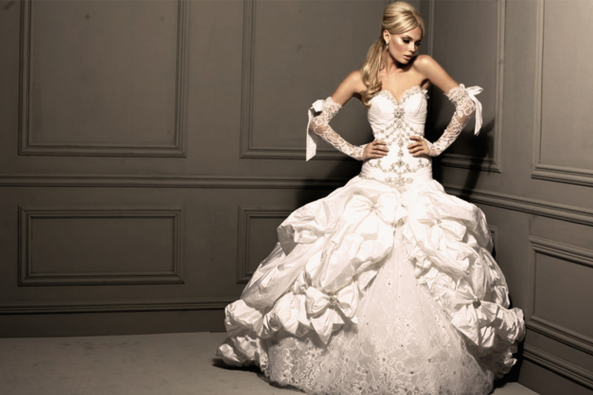 The Most Expensive Wedding Gown