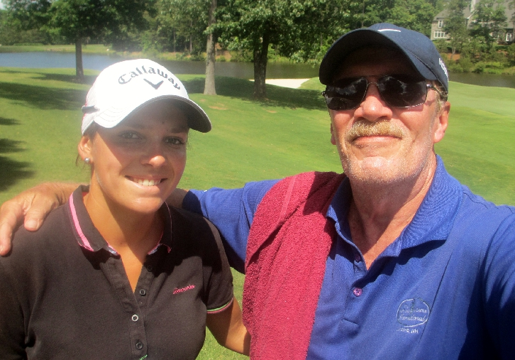 Caddying for Internationals on the Symetra and LPGA Tours