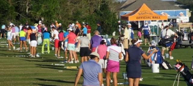LPGA Q School practice