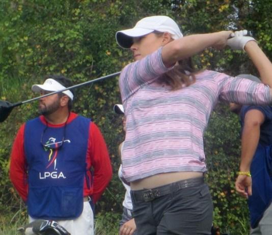 Maude Aimee Leblanc returns to the LPGA Tour
