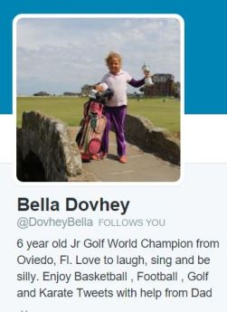 Bella Dovhey Twitter
