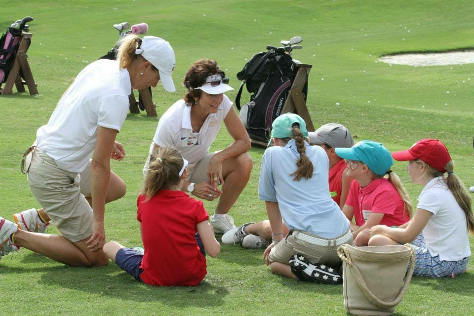 beth brown girls golf first tee