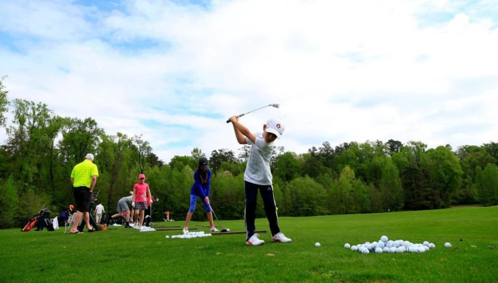 is junior golf good for kids