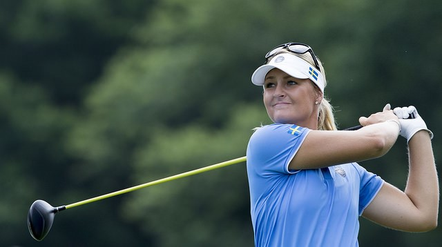 Anna Nordqvist International Crown 2014 Womens Golf