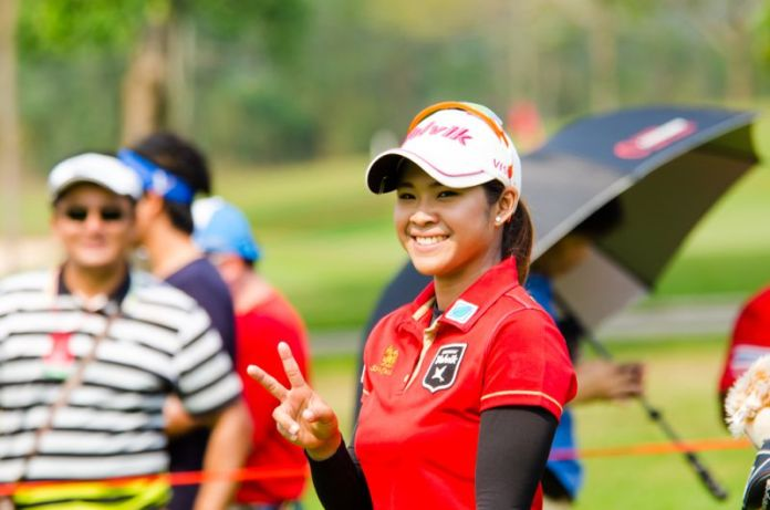 LPGA Player, Pornanong Phatlum from Thailand