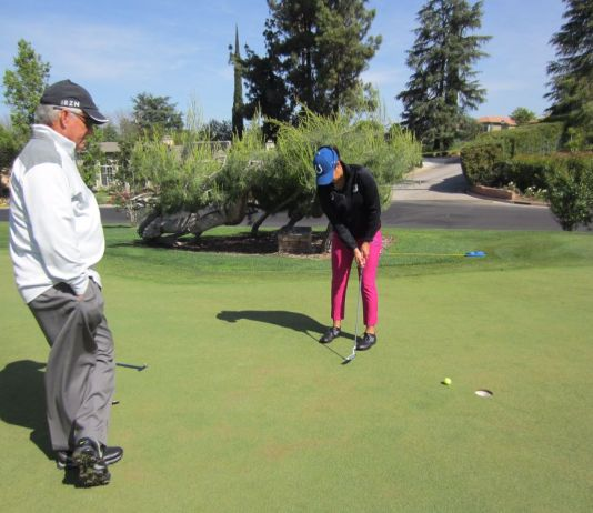 Lucy Davies Womens Golf Newsletter Womens Golf Magazine Putting Drill for Distance Control