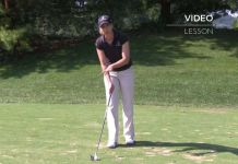 Maria Palozola Womens Golf Alignment Tip