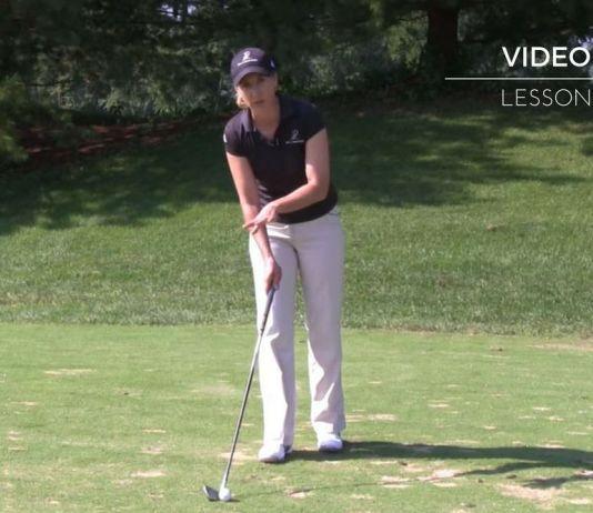 Maria Palozola Womens Golf Alignment Tip