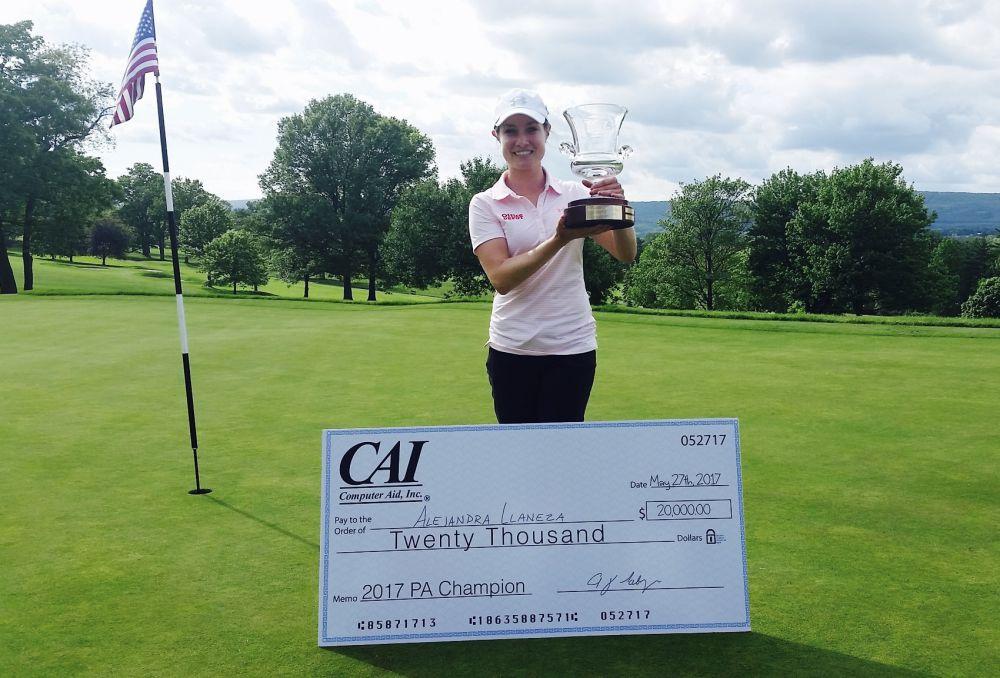 Alejandra Ilaneza Womens Golf Magazine PA State Open