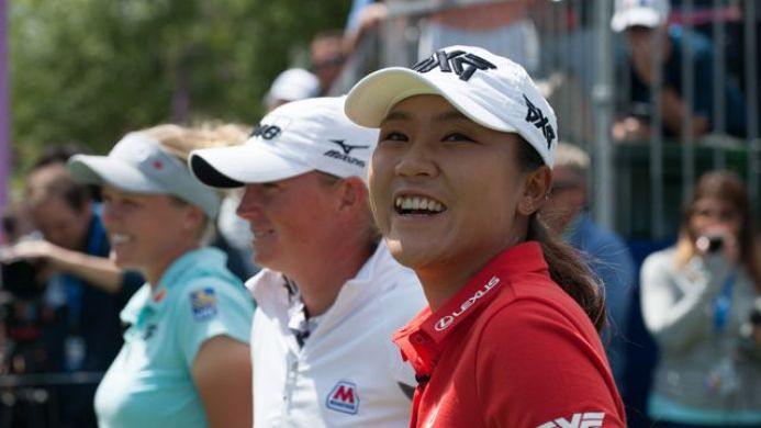 Brooke Henderson Stacy Lewis and Lydia Ko Womens golf magazine