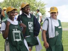 Caddie Academy womens golf website and newsletter