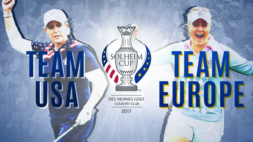 2017 Solheim Cup Womens Golf
