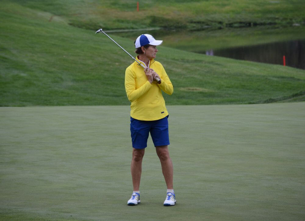 Catriona Matthew Vice Captain called into play after Suzann Pettersen withdrew with back injury