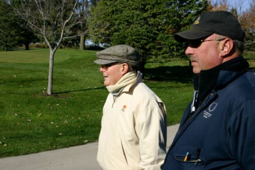 Rick Tegtmeier with Pete Dye at DMGCC