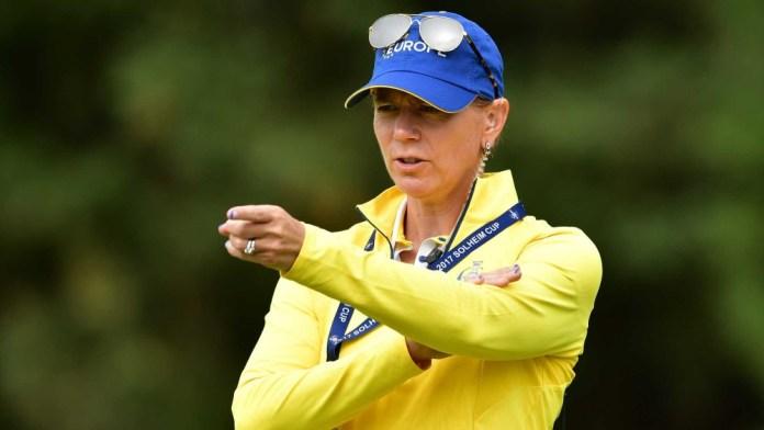 European Team Captain, Annika Sorenstam