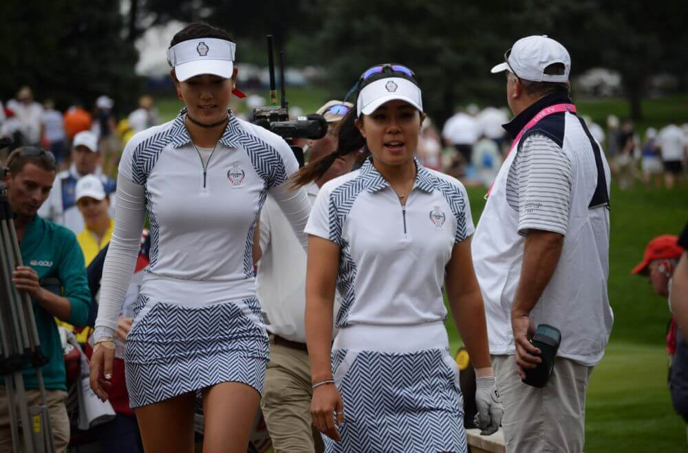 Michelle Wie and Danielle Kang Solheim Cup Fashions Womens Golf