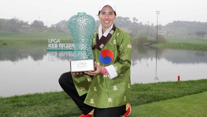 Carlota Ciganda Winner of LPGA KEB Hana Championship Womens Golf