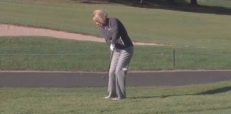 Debbie O'Connell eliminate scooping the ball womens golf