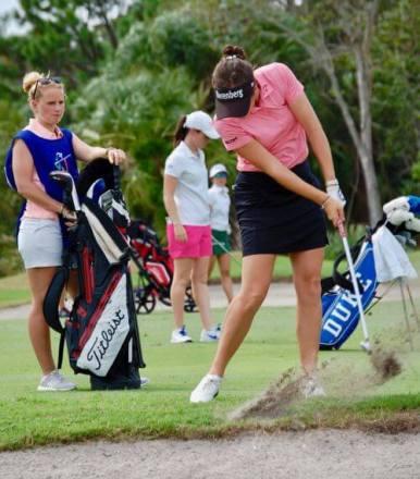Georgia Hall 2017 LPGA Qualifying Tournament womens golf