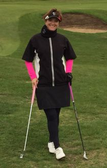 Kathy Nyman Rain Girl Golf
