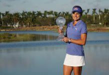 Lexi Thompson Vare Trophy winner LPGA 2017 - womensgolf.com Ben Harpring