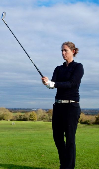 Lizzy Freemantle develop the perfect pre-shot routine womens golf