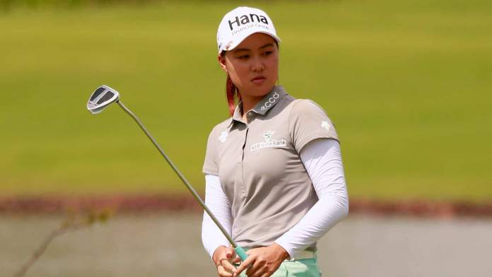 Australian, Minjee Lee, the winner of the 2016 Blue Bay LPGA