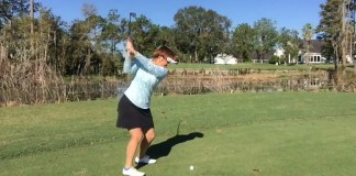 Stop Chunking the Ball Kathy Nyman - womens golf