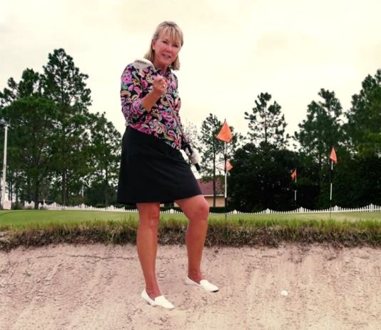 How to Play the Fried Egg Buried Lie - Cindy Miller for Womensgolf