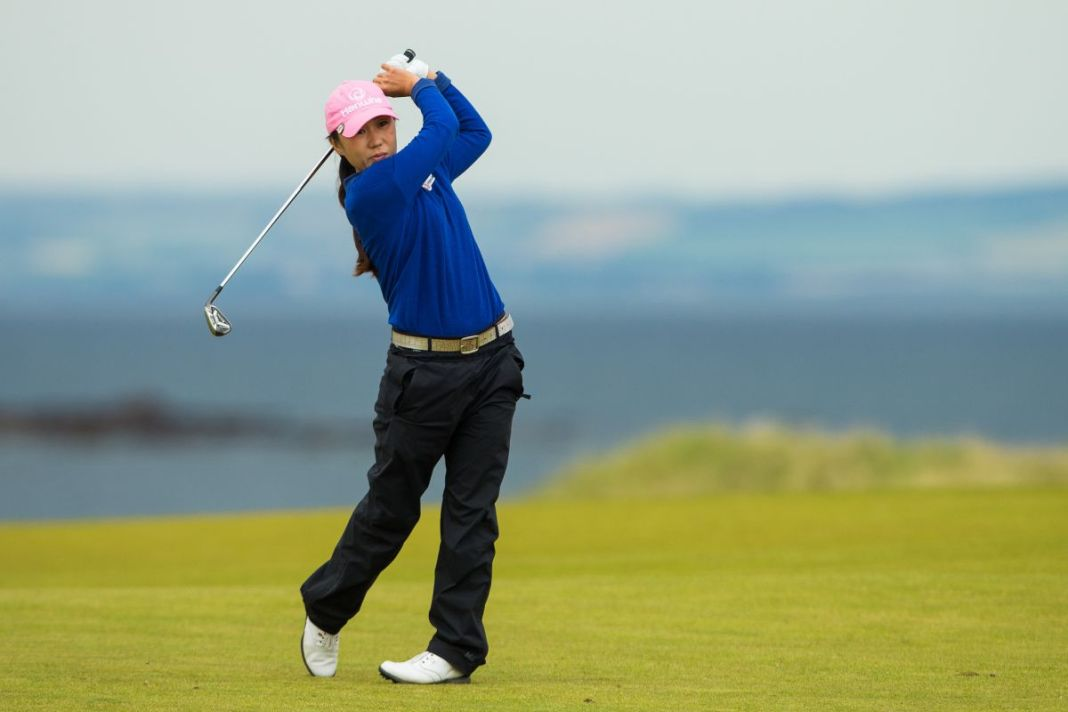 In-Kyung Kim of Korea Winner of the Ricoh Women's British Open