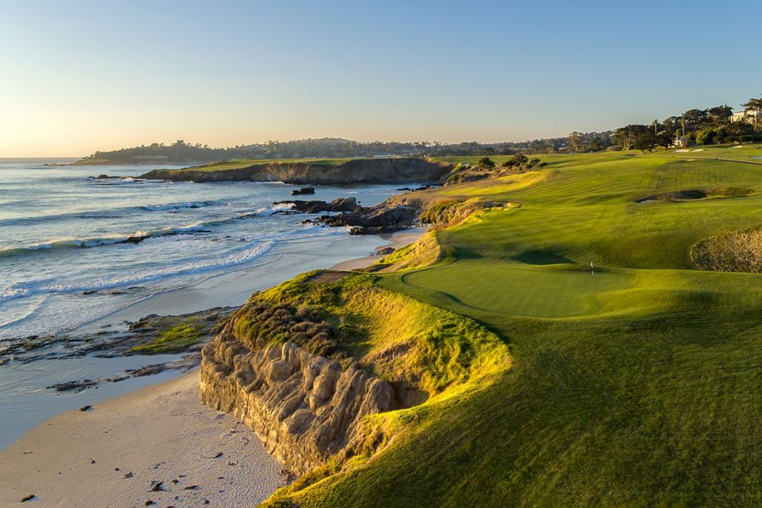 Pebble Beach Golf Links - 9th hole - Evan Schiller - WomensGolf.com