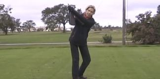 Cathy Schmidt - Keep Your Swing On Plane by Blending Your Arms and Pivot - WomensGolf.com