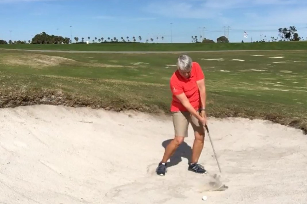 Choose the right option to get out of the bunker first time womensgolf.com