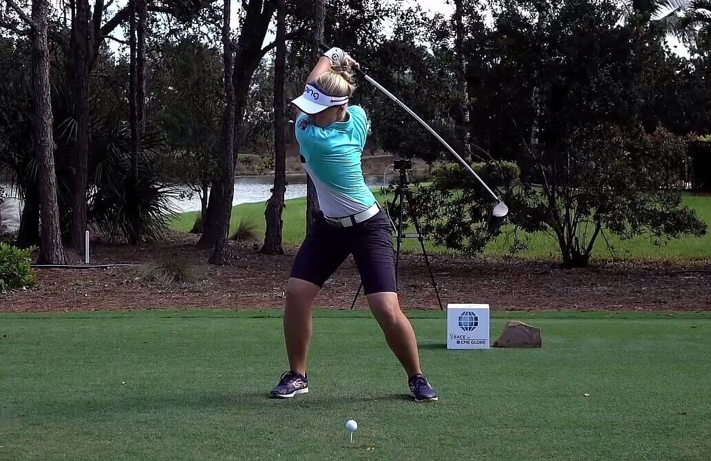 Analysis of young LPGA star, Brooke Henderson's amazing swing